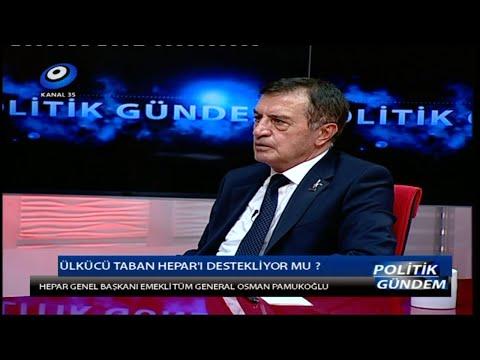 Osman PAMUKOGLU  25.08.2014 - Kanal 35 - Politik Gündem
