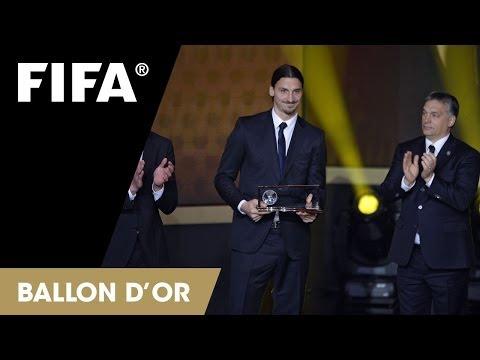 Zlatan Ibrahimović: FIFA Puskas Award Reaction