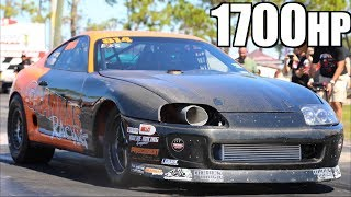 Fastest Stick Shift Supra Ever vs Cleetus McFarland | RWD Stick Shift Record Set by LT1 Camaro