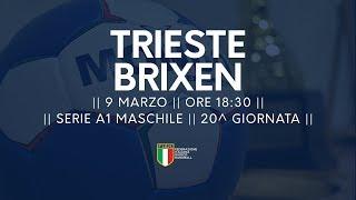 Serie A1M [20^]: Trieste - Brixen 33-27