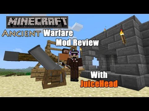 Minecraft Mod Reviews - Ancient Warfare v0.8.8.136