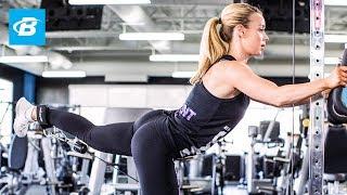 Lower-Body Bikini Workout   IFBB Pro Bikini Annie Parker