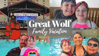 GREAT WOLF LODGE // Family Vacation // Cleaning Mom