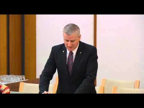 Michael McCormack MP - Statement  to Parliament on Iraq