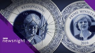 Theresa May's legacy by Michael Cockerell - BBC Newsnight