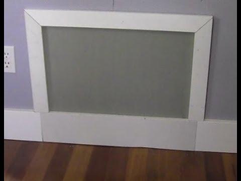 Ricksdiy Making A Simple Drywall Access Panel Wmv Youtube