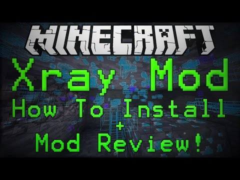Minecraft 1.7.10: Kradxn's X-ray Mod Review + How To Install!