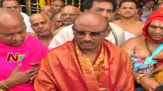 TTD Chairman Putta Sudhakar Yadav Speaks to Media On Maha Samprokshanam in Tirumala | Tirupati | NTV