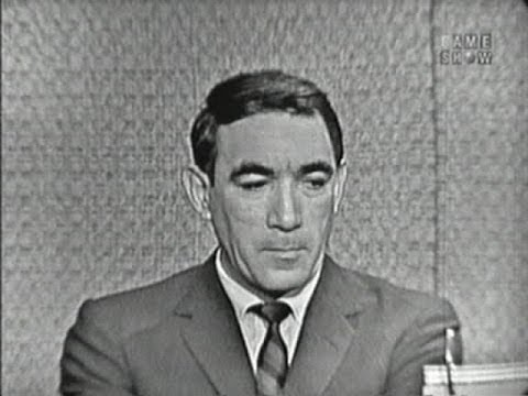 What's My Line? - Billy Graham; Anthony Quinn; Joey Bishop [panel] (Oct 9, 1960)