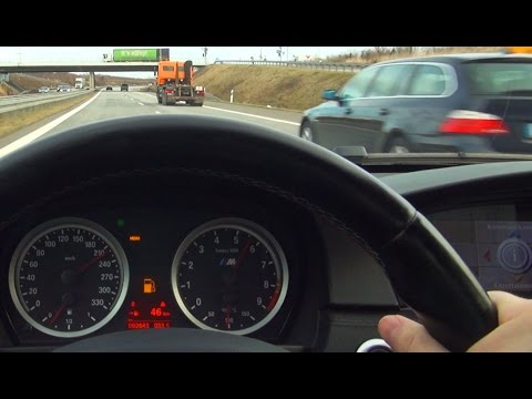 BMW M3 E92 Acceleration + Action Onboard V8 Sound Shift Down Best Of