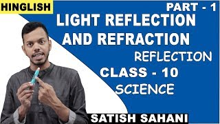 Light Reflection And Refraction - What is Reflection | Class 10 Science |  iWiz Satish Sahani