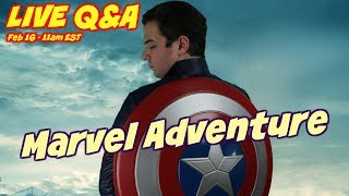 LIVE Q&A - Marvel Day at Sea Excitement 🇺🇸 Disney Cruise 🚢 Disney Magic for the 1st time
