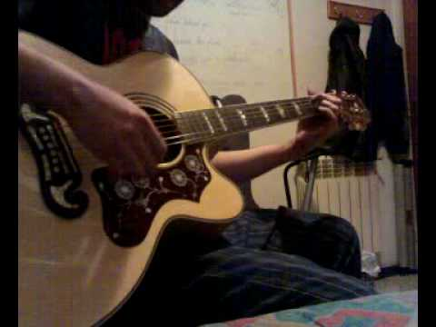 Alice In Chains - Nutshell (acoustic Cover With An Epiphone Ej-200ce) video