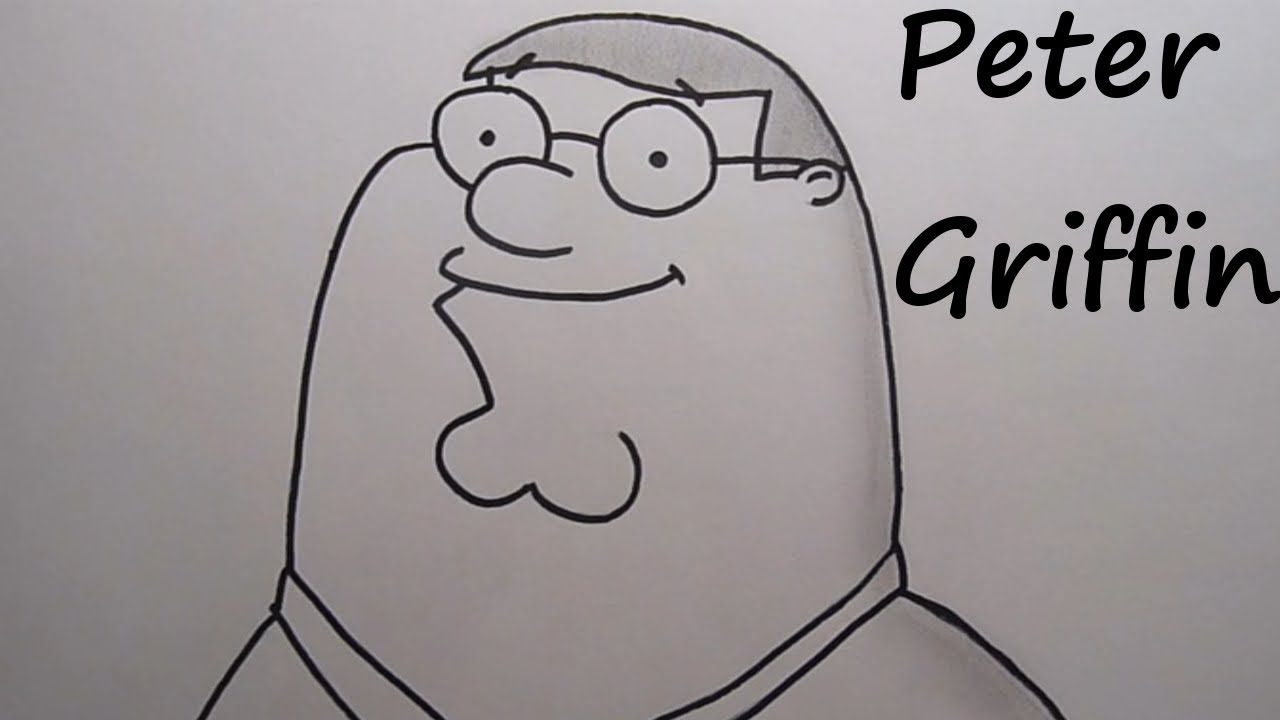Youtube Family Drawing 33rd Drawing Peter Griffin