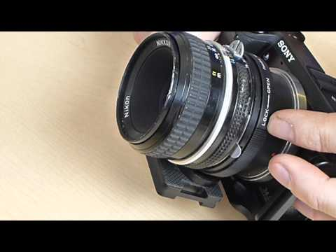 FotoDiox Nex to Nikon Lens Adapter. Nex-7