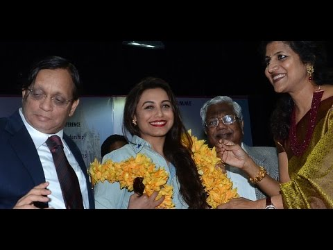 Mumbai University Felicitates Actress Rani Mukerji And Legendary Actor Prem Chopra