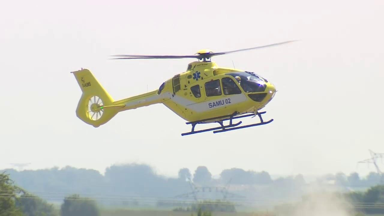 Legehelikopteret til banen
