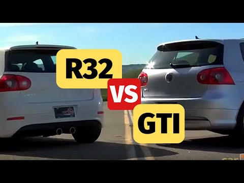 Volkswagen R32 Reviewed and Compared to GTI by CarReview.com