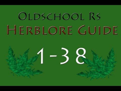 Runescape 07 Oldschool servers – 1-38 Herblore