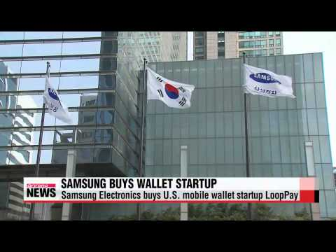 Samsung Electronics purchases U.S. mobile firm LoopPay   삼성, 미국 루프페이 인수…애플페이에 도전