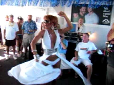 Erika Norell as Mary J Blige On Peter Burke's Gay Tea Cruise