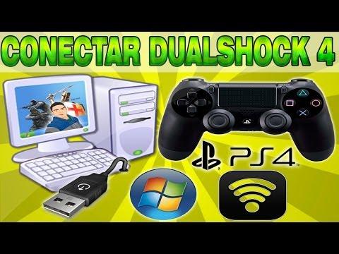 Conectar(USB) o Sincronizar(Bluetooth) el Dualshock4 a la PC   Sirve en todos los juegos (Solucion)