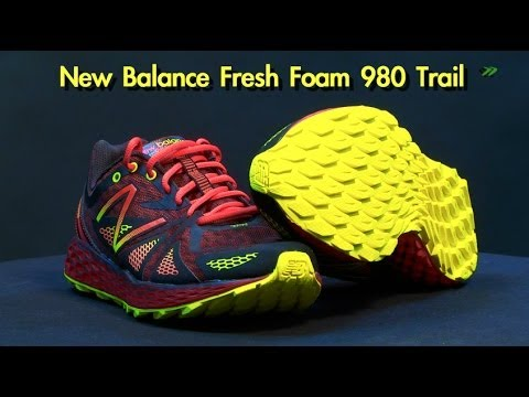 New Balance Fresh Foam 980 Trail, shoes running review