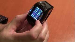Обзор гаджета телефон-часы