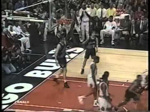 Michael Jordan Posterizes Shawn Kemp and Zydrunas Ilgauskas (1998 Season vs. Cleveland Cavaliers)