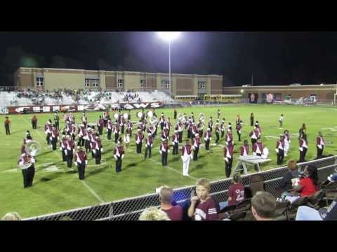 Blytheville High School Band Homecoming 2013 Performance
