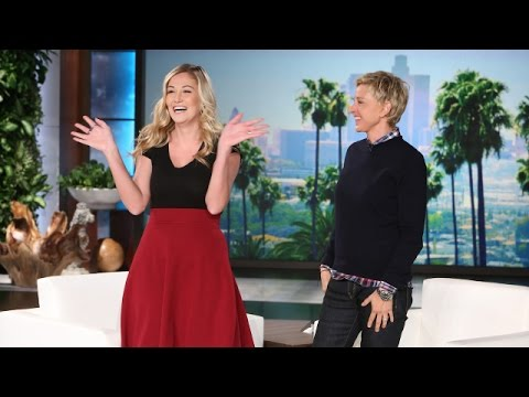 ellen degeneres meets wisdom teeth girl A video taken of her after wisdom tooth surgery went viral today, her wish to meet ellen came true, and that's not the only wish that did.