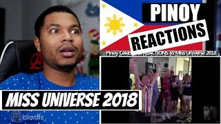 Pinoy Celebrities REACTIONS to Miss Universe 2018