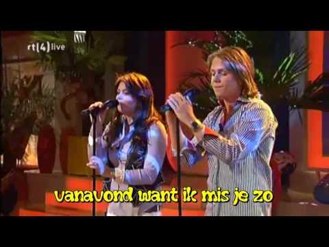 Roxeanne Hazes & André Hazes Jr. - Soms Doet 't Zo'n Pijn-Tekst-ondertiteld