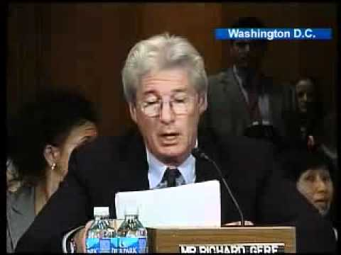 Richard Gere slams Bush over Tibet (2008)