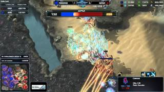 Firecake vs. Mana - Longest Game in Professional Starcraft 2 History? - WCS Challenger - Group G