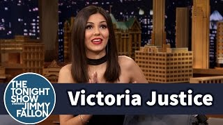 Victoria Justice Does Her Impression of The Rock