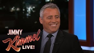 Matt LeBlanc Reveals Stunt Fail While Shooting Friends