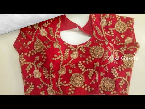 latest Blouse Back Neck Designs 2018 || Designer New Blouse Design || Blouse Back Neck Models