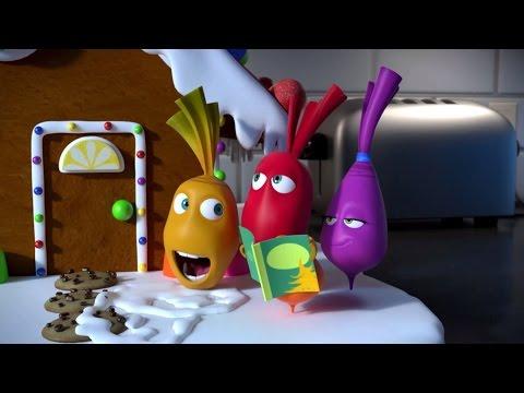Прикольный мультик «Овощная вечеринка» - Пряничный домик (72 серия)