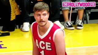 Mr. Beast Shows Off His Hooping Skills In The ACE Family Charity Basketball Game 6.29.19