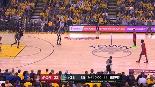1st Quarter, One Box Video: Golden State Warriors vs. Portland Trail Blazers