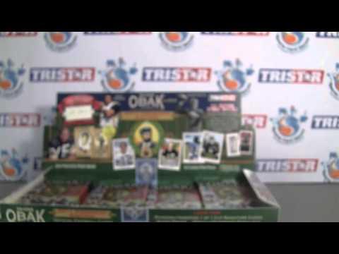 Sportscardhaven Reviews: 2011 Tristar Obak Football