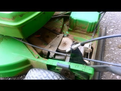 How To Repair / Troubleshoot Self Propelled Part Of A Lawnmower HD