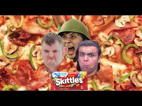 околостаса: Готовим Пиццу со Skittles (Ужин с мразями 2)