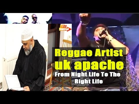 Reggae Jungle Artist UK Apache - From Night Life To The Right Life -