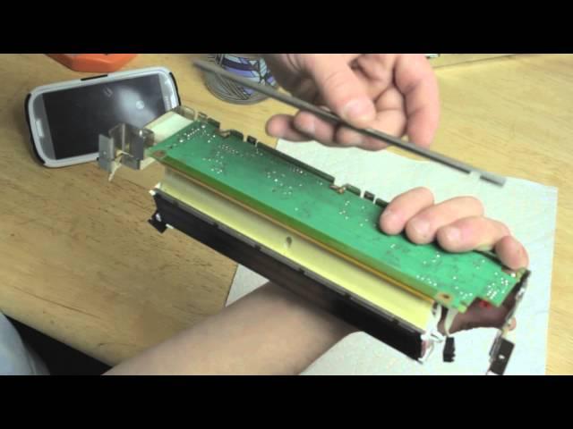 BMW X5 and 5 series (e53) (e39) Radio Screen LCD repair ...