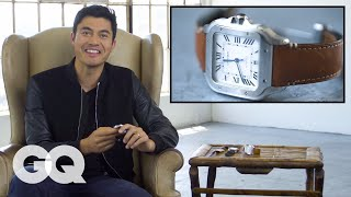Henry Golding Shows Off His Watch Collection | GQ