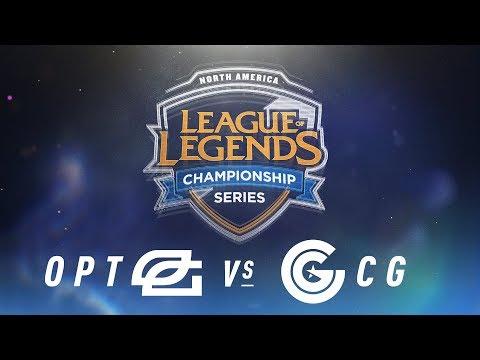 OPT vs. CG - Week 4 Day 2 | NA LCS Spring Split | OpTic Gaming vs.Clutch Gaming (2018)