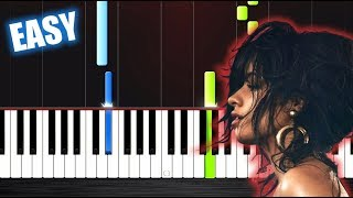 Download Lagu Camila Cabello - Havana - EASY Piano Tutorial by PlutaX Gratis STAFABAND