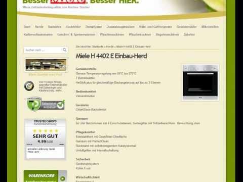 Miele H 4402 E Einbau-Herd bei kuechenblick.de
